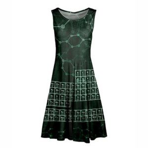 Aster Class in Session Periodic Table Dress